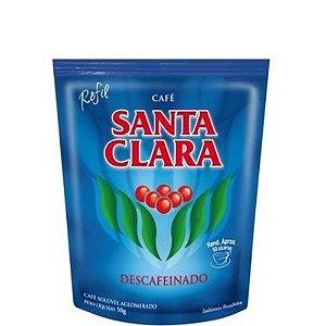 Café Santa Clara Descafeinado Solúvel Refil 50g