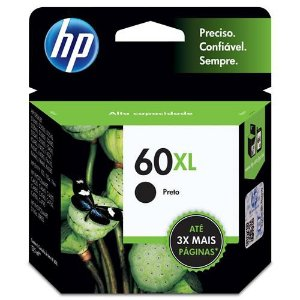 Cartucho Hp 60Xl Preto
