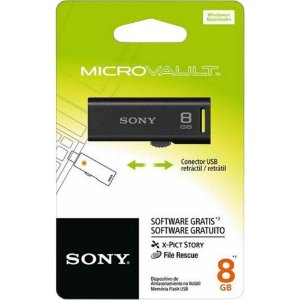 Pen Drive 8Gb Sony USM8GR