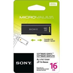 Pen Drive 16Gb Sony USM16GR