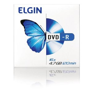Dvd-R Unidade 4.7Gb 120Min Elgin