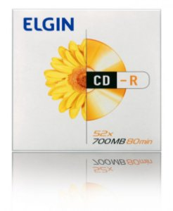 Cd-R Unidade 700Mb 80Min Elgin