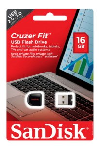 Pen Drive 16Gb mini SanDisk Cruzer Blade