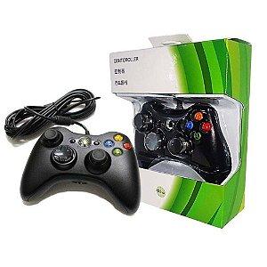 controle para videogames xbox com fio importado