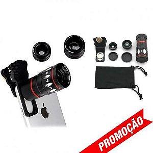 Lentes Olho De Peixe Iphone Galaxy Ipad 180 Selfie