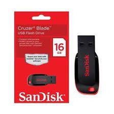 Pen Drive Sandisk 16gb 100% Original Temos O Melhor Preço!!!