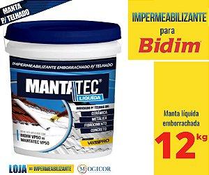 MANTA LIQUIDA 12 kg IMPERMEABILIZANTE LAJE - www.lojadoimpermeabilizante.com.br