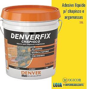 Denver Chapisco Líquido para Argamassa Chapisco Branco 3,6L - www.lojadoimpermeabilizante.com.br
