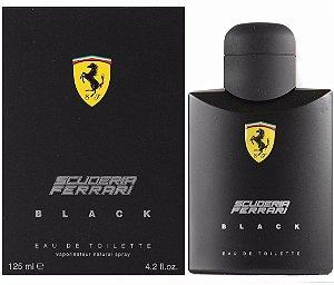 Perfume Masculino Ferrari Black Eau De Toilette 125ml - Scuderia Ferrari
