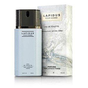 Perfume Masculino Lapidus Pour Homme Eau De Toilette 100ml - Ted Lapidus
