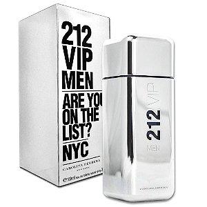 Perfume Masculino 212 Vip Men Eau De Toilette 100ml - Caroline Herrera