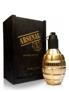 Perfume Masculino Arsenal Gold Eau De Parfum 100ml - Gilles Cantuel