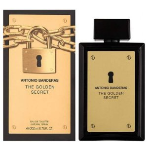 Perfume Masculino The Golden Secret Eau De Toilette 200ml - Antonio Banderas
