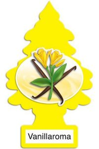 Aromatizante para carro - Little Trees (Vanillaroma) 24 UNIDADES