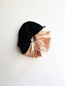 Rabicó bicolor preto e rosa chá - Tam G