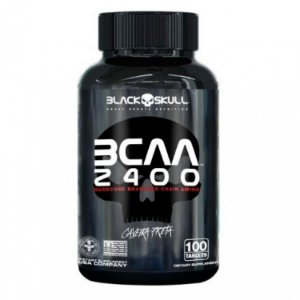 BCAA 2400 100 TABS - BLACK SKULL