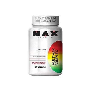 Multimax Complex 90Caps ( Multivitamínico ) - Max Titanium