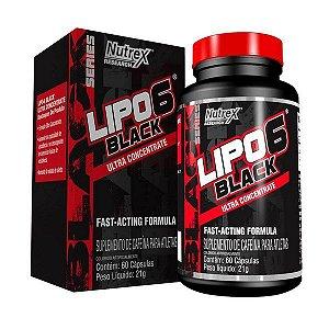 LIPO 6 BLACK 60CAPS - NUTREX