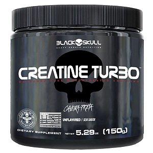 CREATINA TURBO 150G - BLACK SKULL