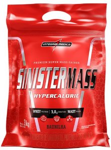 SINISTER MASSA 3KG - INTEGRALMEDICA