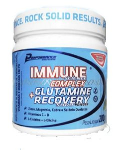 IMMUNE SCIENCE COMPLEX + GLUTAMINA RECOVERY 200G - PERFORMANCE NUTRITION