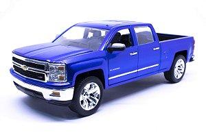 Chevy Silverado 2014 Azul - Jada 1:24