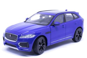 Jaguar F-PACE Azul - Welly 1:24
