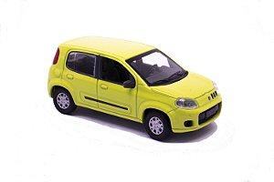 Fiat Uno 2012 Amarelo - Norev 1:43