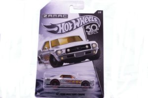 Carrinho Hot Wheels Zamac 67 Ford Mustang Coupe - FRN23 Mattel