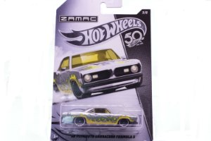 Carrinho Hot Wheels Zamac 68 Plymouth Barracuda Formula S - FRN23 Mattel