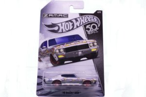 Carrinho Hot Wheels Zamac 70 Buick GSX - FRN23 Mattel