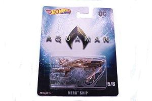 Hot Wheels Premium Mera Ship - Aquaman DC Comics - DMC55 Mattel 5/6