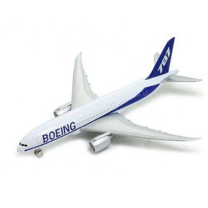 Avião Comercial Boeing 787 - Welly 5/6""