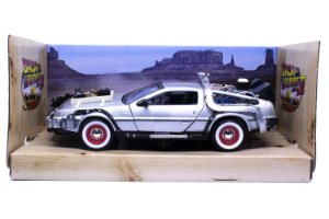 Delorean De Volta Para o Futuro 3 (Back to the Future 3) - Welly 1:24