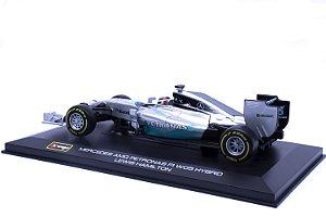 Formula 1 Mercedes Benz W05 Hybrid - AMG Petronas - #44 Lewis Hamilton (2014) - Burago 1:32