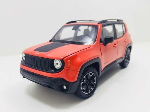 Jeep Renegade Trailhawk Laranja - Welly 1:24