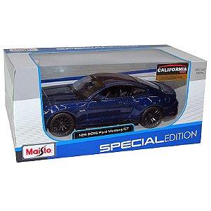 Ford Mustang GT 2015 Azul - Maisto 1:24 (Especial Edition)
