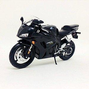 Moto Honda CBR 1000RR Preta 1:12 - Maisto