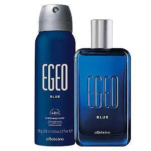 Egeo Blue Deo Colônia + Desodorante Aerosol Egeo Blue