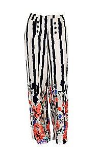 Pantalona Listras Flores