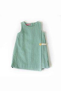 Vestido Envelope Verde (Infantil)