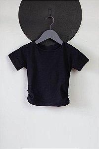Top Conforto preto (Infantil)