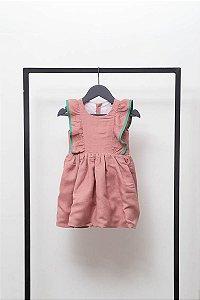 Vestido Bailarina Rosê (Infantil)