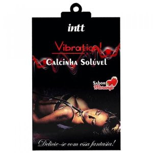 VIBRATION - Calcinha Comestível | Sabor: Morango