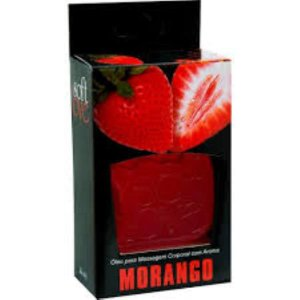 GEL BEIJÁVEL HOT MORANGO SOFT LOVE 30 ML