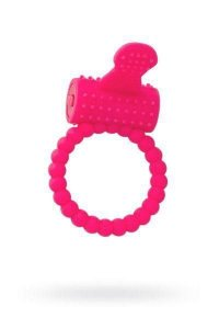 Q-TOYS COCK RING - Anel Peniano com Vibrador - Língua | Medida Interna: 3,5 cm - 769006