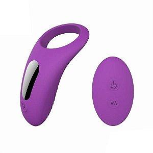 HIMAN - RCT - Anel Peniano com Vibrador Recarregável e 9 Modos de Vibração | Medida Interna: 3 cm
