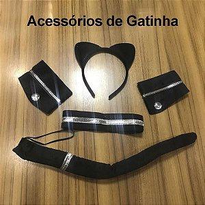 KIT GATINHA - Acessórios para Produzir seu Look