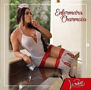 FANTASIA - Enfermeira Charmosa Le Rouge - FF178 | Tamanho: U
