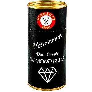 PHEROMONAS DIAMOND BLACK - Perfume Masculino Afrodisíaco Deo Colonia